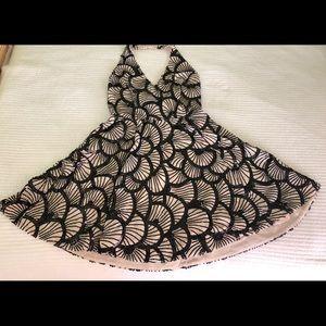 Bebe Halter evening dress